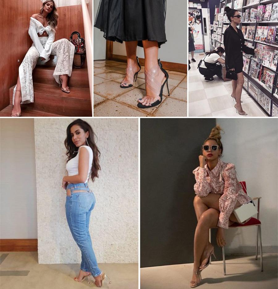 Fashion Tendy- Calçados com Transparencia camila coelho2